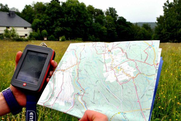 Geocaching im Erzgebirge