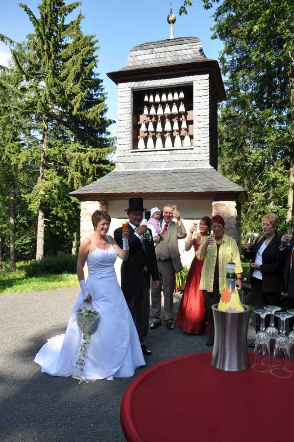 Hochzeit am Bärenfelser Glockenspiel