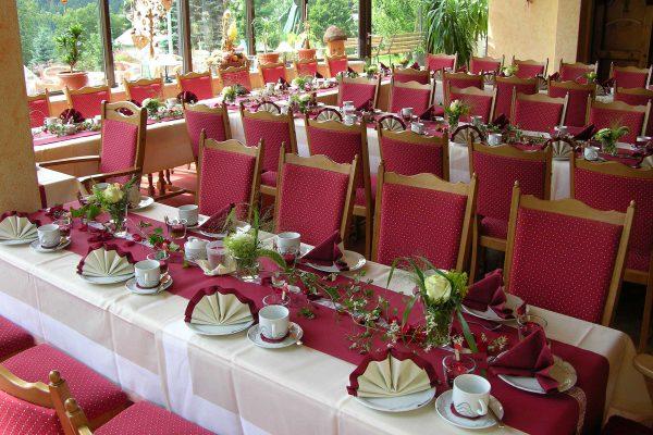 Hochzeitsbestuhlung