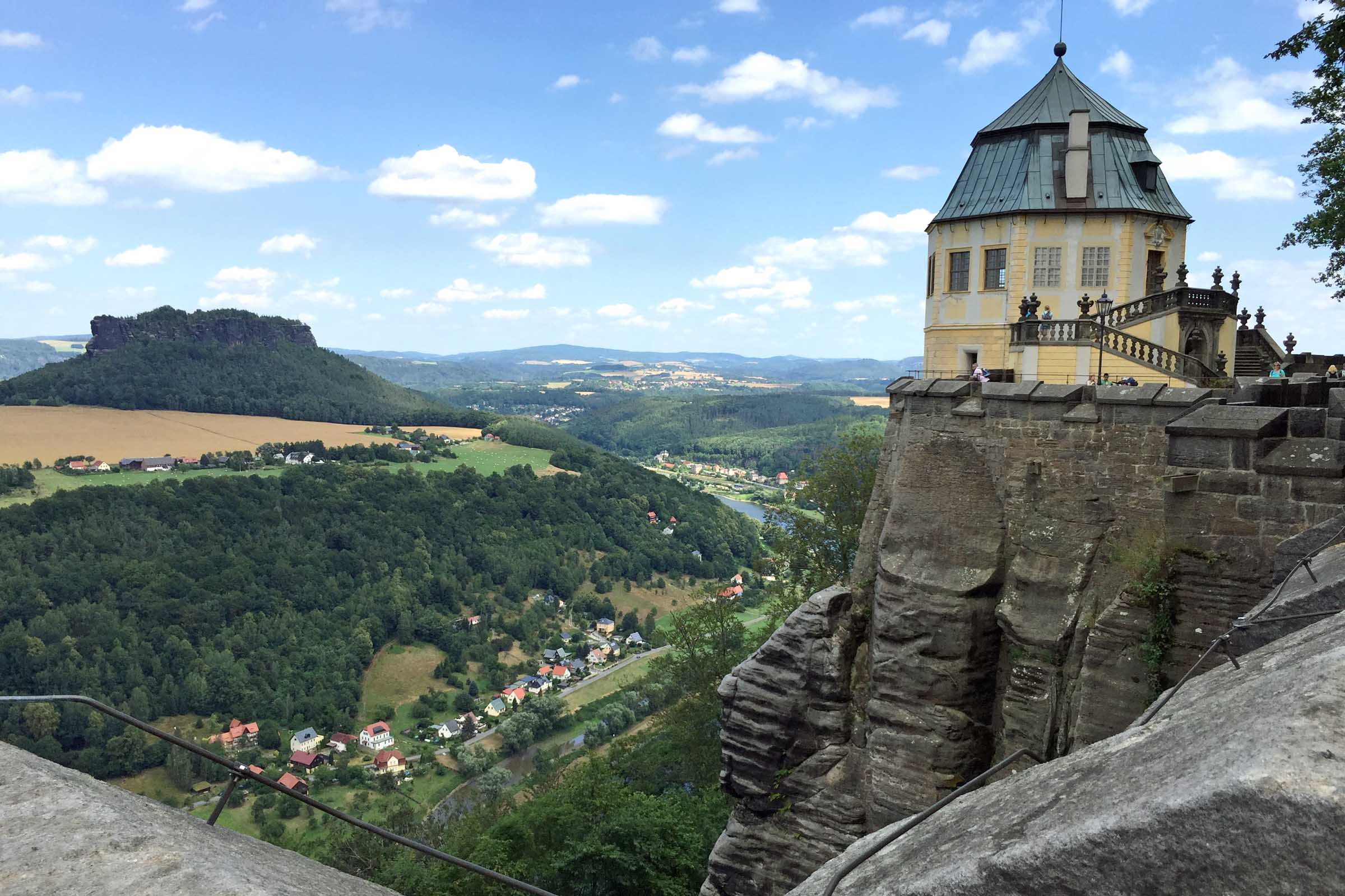 Festung Königstein, Sächsische Schweiz