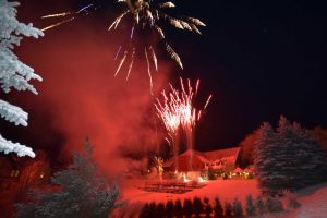 Feuerwerk in Bärenfels