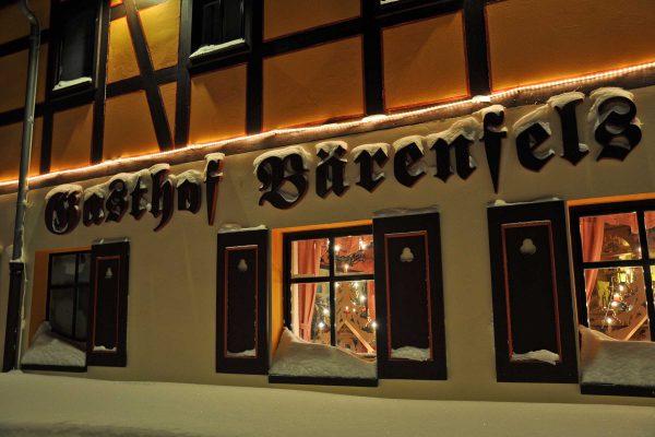 Weihnachtlicher Gasthof